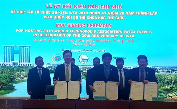 World Technopolis Association events to be held in Binh Duong hinh anh 1