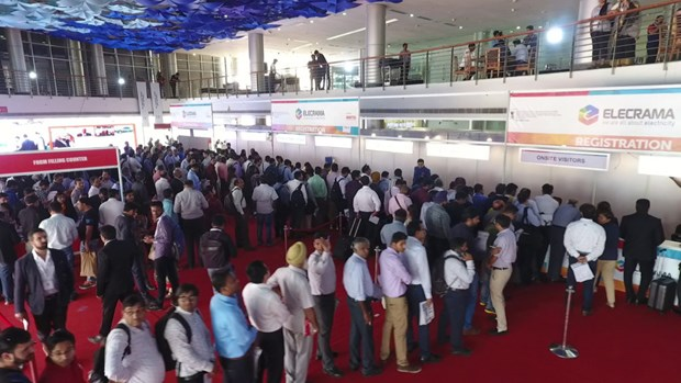 Vietnam attends electricity exhibition Elecrama 2018 in India hinh anh 1