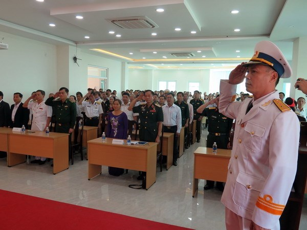 Fallen soldiers in Gac Ma battle commemorated in Da Nang hinh anh 1