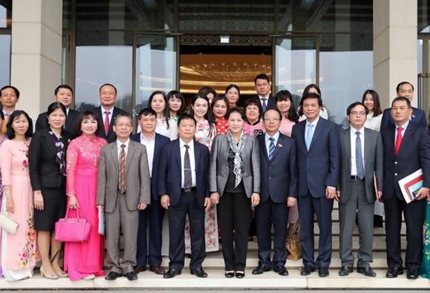 Top legislator: SMEs - momentum of national economy hinh anh 1