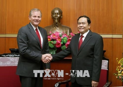 VFF leader stresses contributions of LDS Church's followers to national unity hinh anh 1