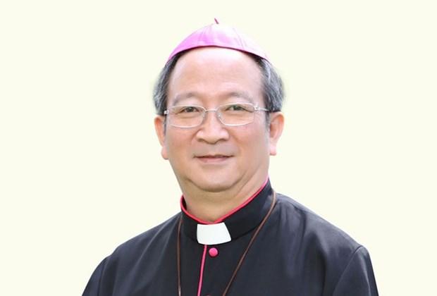 VFF leader conveys condolences over death of Archbishop Bui Van Doc hinh anh 1