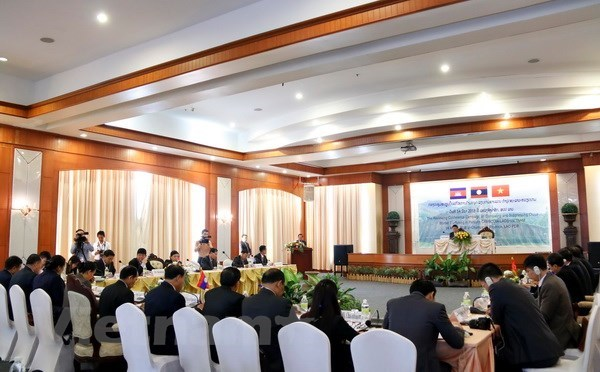 Vietnam-Laos-Cambodia joint campaign curbs rise in human trafficking hinh anh 1