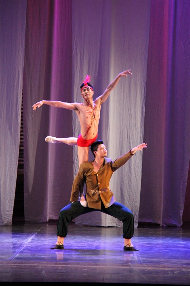 Russian contemporary ballet to be performed in Hanoi hinh anh 1