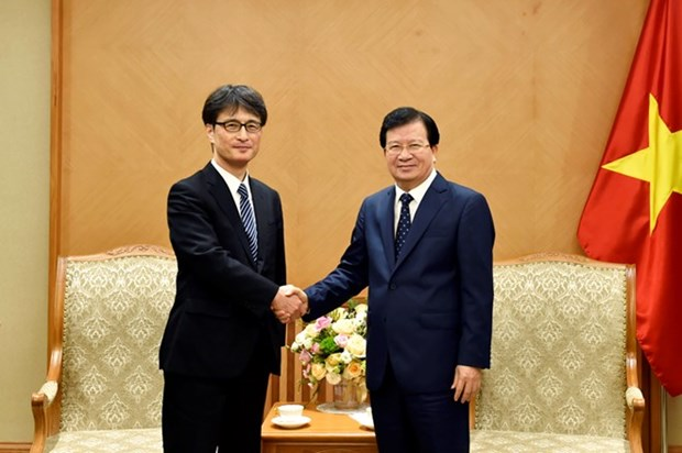 Vietnam provides favourable conditions for Japanese businesses: Deputy PM hinh anh 1