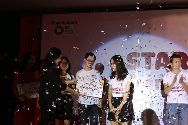 Registration opens for 'Start-up Francophone' contest hinh anh 1