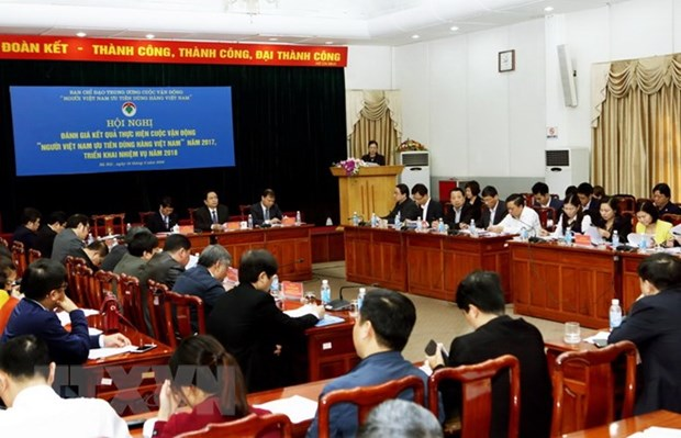Vietnamese people called to support domestic production hinh anh 1