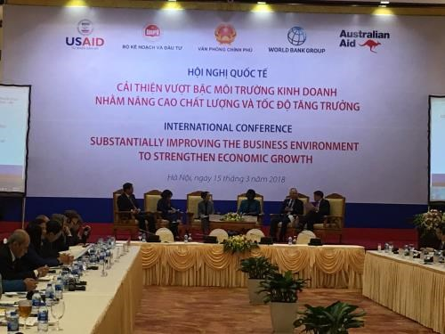Double efforts needed to improve business environment hinh anh 1
