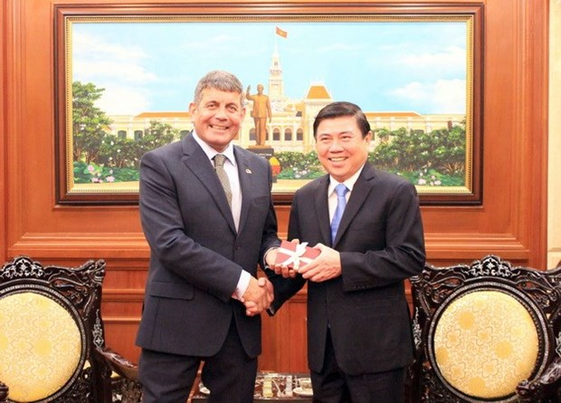 HCM City, Ireland cooperate in food processing hinh anh 1
