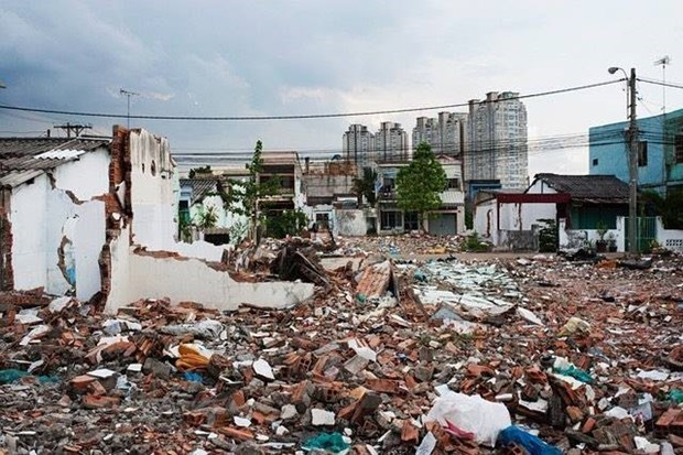 Taiwanese artist inspires from debris hinh anh 1