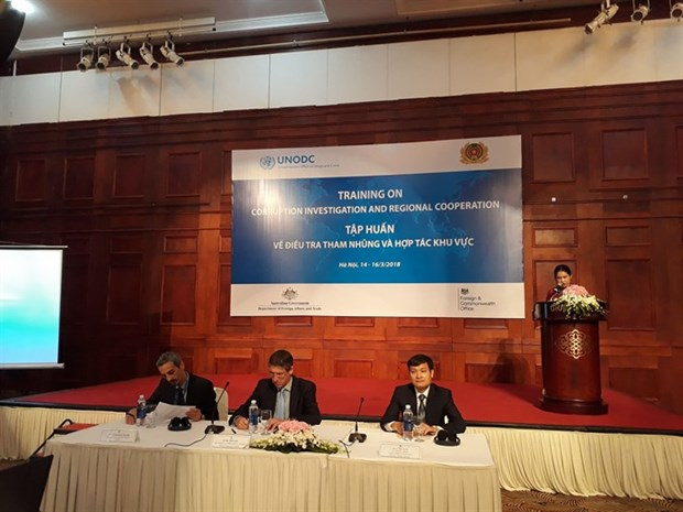 Training course on corruption, regional cooperation launched hinh anh 1