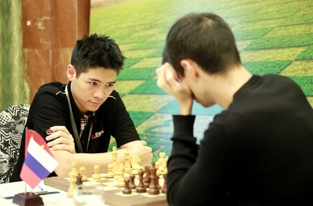 Le Tuan Minh ranked second at HDBank chess tournament 2018 hinh anh 1