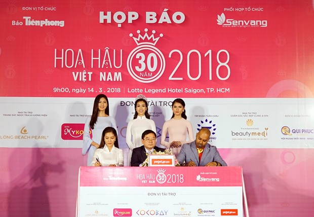Vietjet becomes Miss Vietnam 2018's official transportation sponsor hinh anh 1