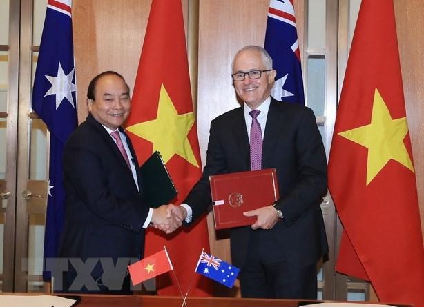 Vietnam, Australia elevate ties to strategic partnership hinh anh 1