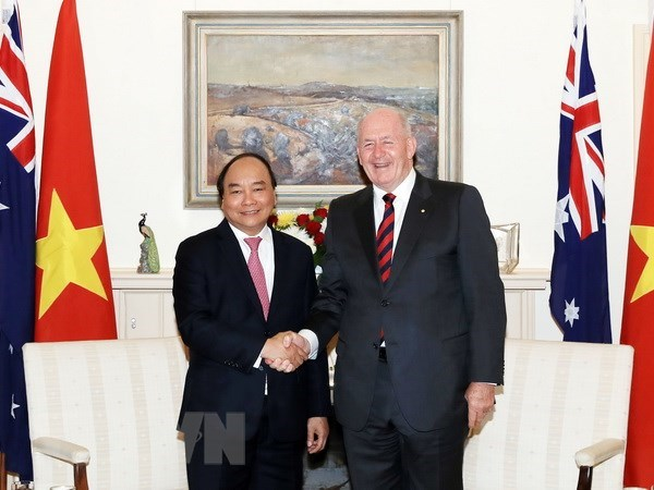 Vietnamese PM meets with Governor-General of Australia hinh anh 1