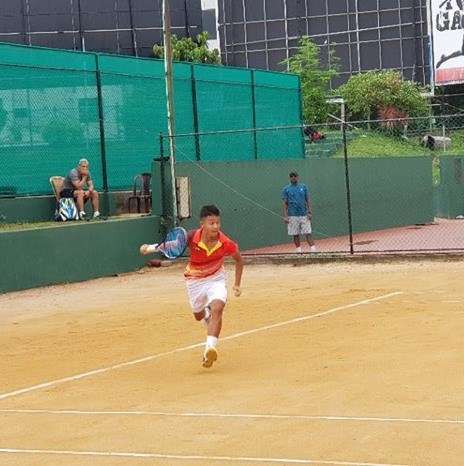 VN win second match at Junior Davis Cup hinh anh 1