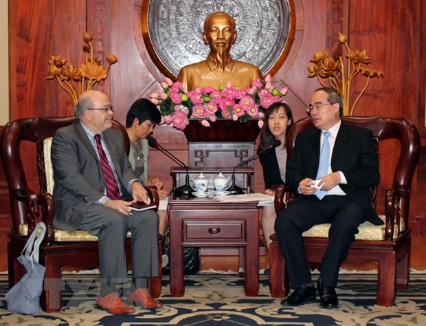 HCM City hopes for IMF's further support hinh anh 1