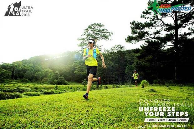 Second Dalat Ultra Trail International Marathon kicks off hinh anh 1
