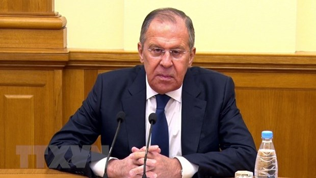Russian FM Sergey Lavrov lauds close ties with Vietnam hinh anh 1