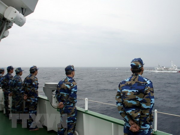 Vietnam, China talk sea area off mouth of Tonkin Gulf hinh anh 1