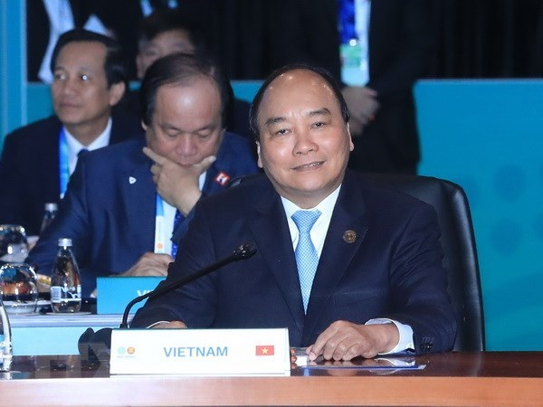 PM Phuc suggests orientations of ASEAN-Australia partnership hinh anh 1