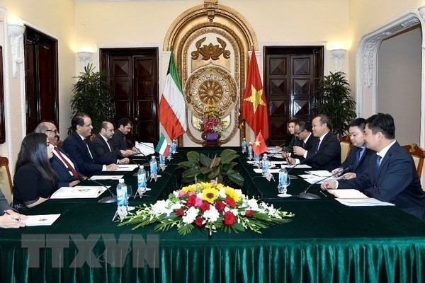 Vietnam, Kuwait hold third political consultation hinh anh 1