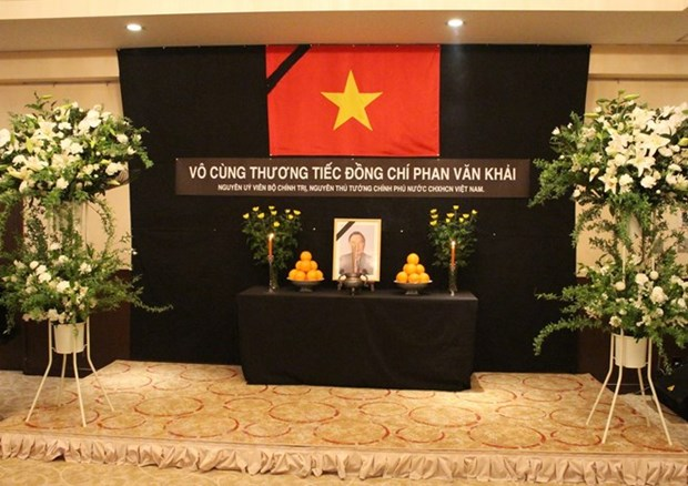 Memorial services for former PM Khai in Laos, Japan hinh anh 1