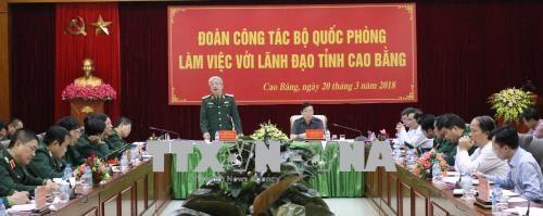 Cao Bang prepares for Vietnam-China border defence exchange hinh anh 1
