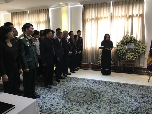 Overseas ceremonies pay homage to late PM Phan Van Khai hinh anh 1
