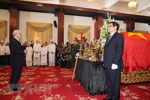 Funeral held for former PM Phan Van Khai hinh anh 1