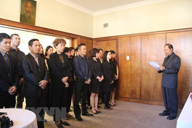 Ceremonies held abroad to commemorate late PM Phan Van Khai hinh anh 1