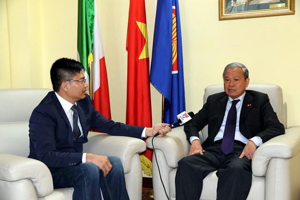 Ambassador: Vietnam – Italy ties at the best hinh anh 1