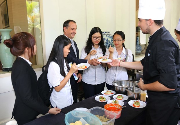 French cuisine introduced in HCM City hinh anh 1