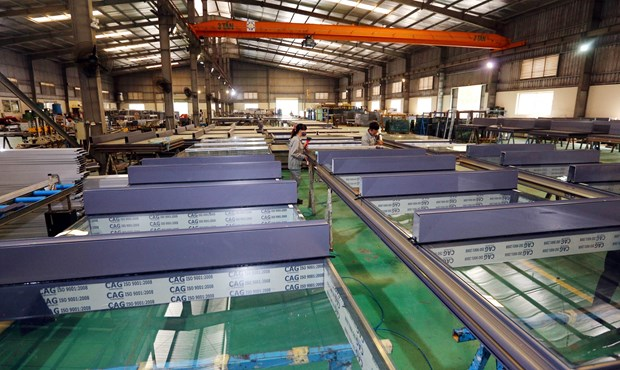 Nghe An: Quarter 1's industrial production up 15.21 percent hinh anh 1