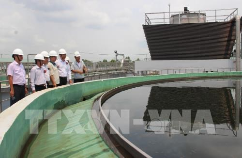 Wastewater treatment plant in Moc Bai IP put into operation hinh anh 1