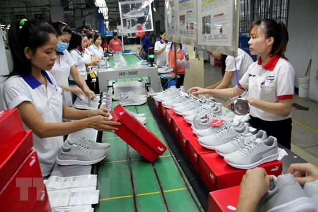 Vietnam's footwear boasts competitive edges in few decades hinh anh 1