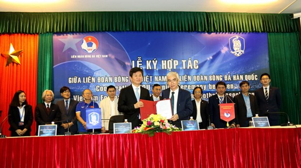 Vietnam, RoK promote football cooperation hinh anh 1