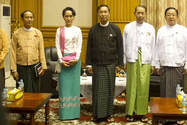 Congratulations to Myanmar Speaker of House of Representatives hinh anh 1