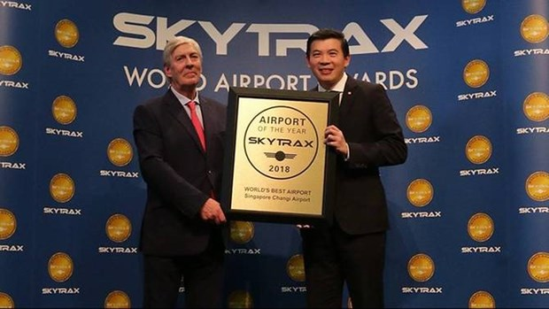 Passengers vote Changi as world best airport for 6th consecutive year hinh anh 1