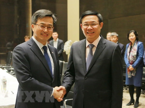 Deputy PM: Vietnam attaches importance to economic ties with RoK hinh anh 1