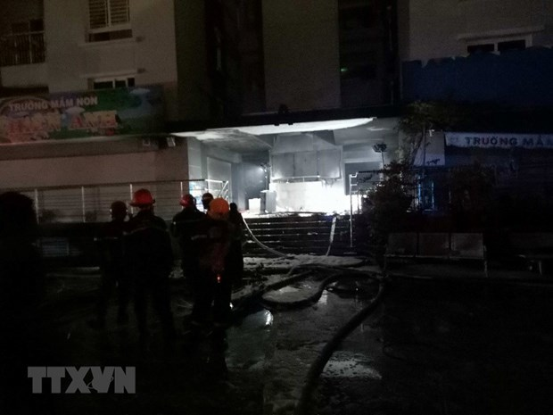 HCM City apartment building fire kills 13 hinh anh 1