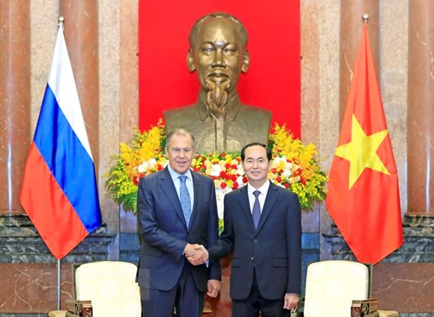 President: Vietnam wants to beef up multifaceted ties with Russia hinh anh 1