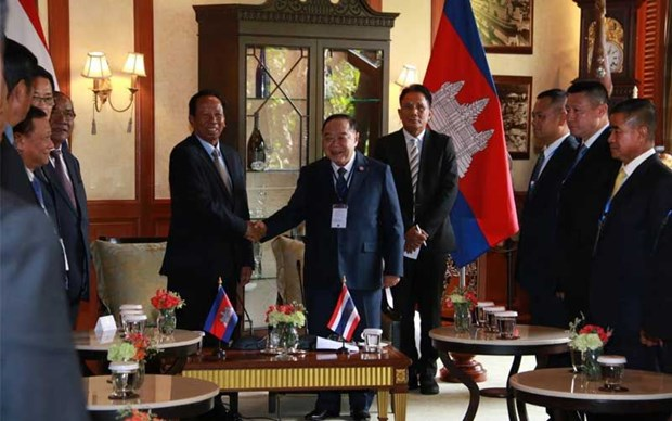 Thailand, Cambodia agree to elevate relations hinh anh 1