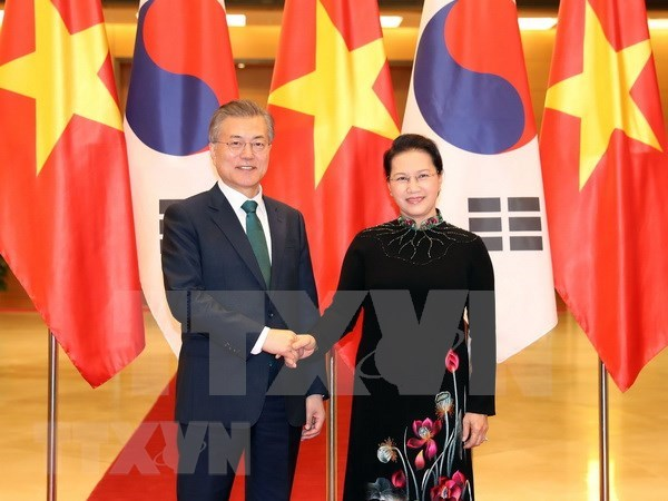 Vietnam, RoK delighted at progress of bilateral ties hinh anh 1