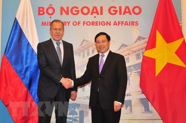 Vietnam, Russia agree on steps to boost ties hinh anh 1