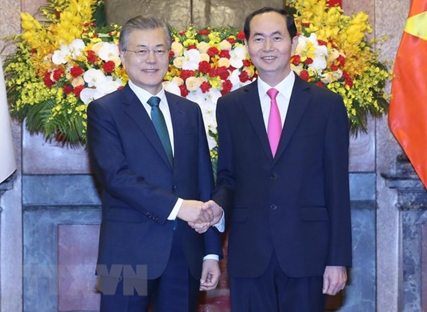 Vietnam, RoK resolved to advance relations hinh anh 1