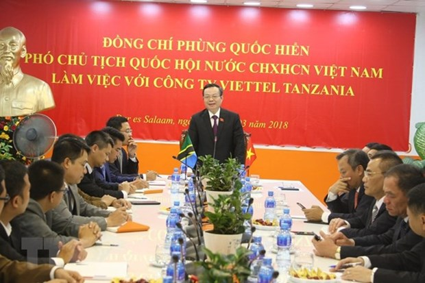 National Assembly delegation visits Tanzania hinh anh 1