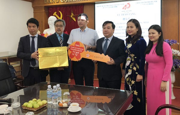 Japan presents Hanoi school Smart Education solutions hinh anh 1