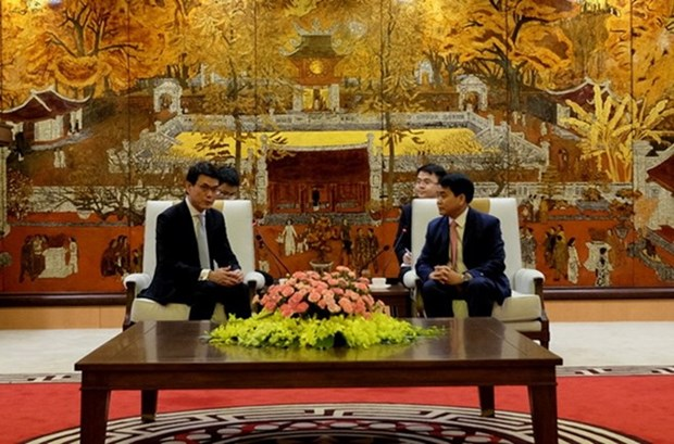 Hanoi, Hong Kong seek stronger economic partnership hinh anh 1