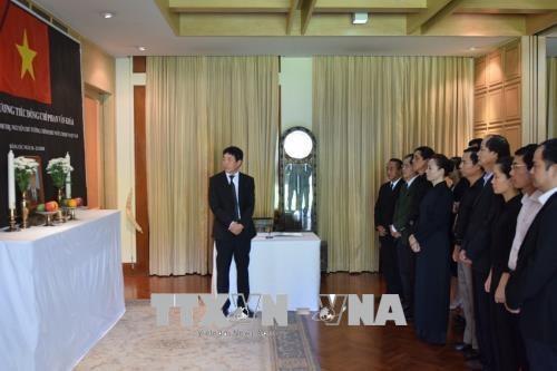 Int'l friends bid last farewells to former PM Phan Van Khai hinh anh 1